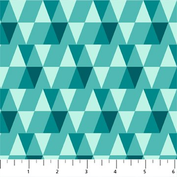 Teal Triangles