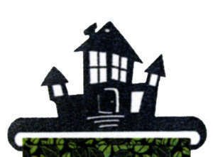 Haunted House 6 inch holder by Ackfeld Mfg