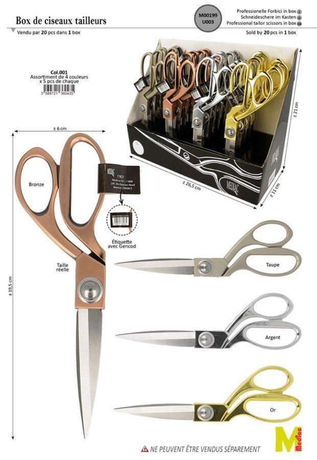 Tailor Scissors - 3 Blades