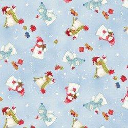 Multi-Tossed Snowmen