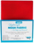 Mesh Lite Weight Atom Red 18in X 54in