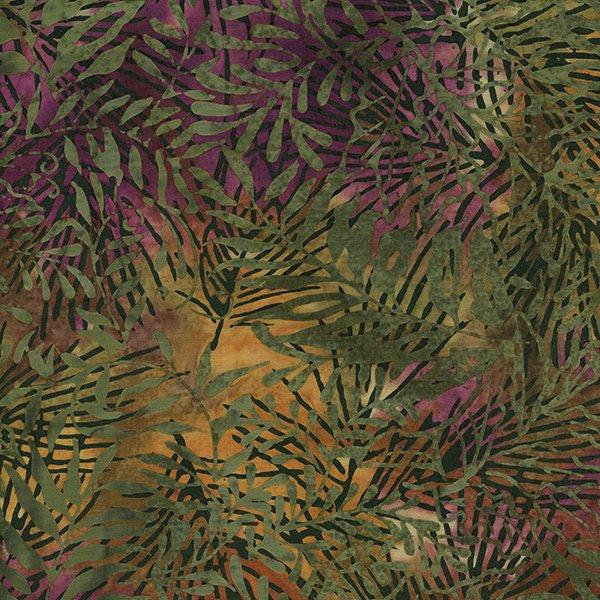 Rayon Batik - Willow Leaf