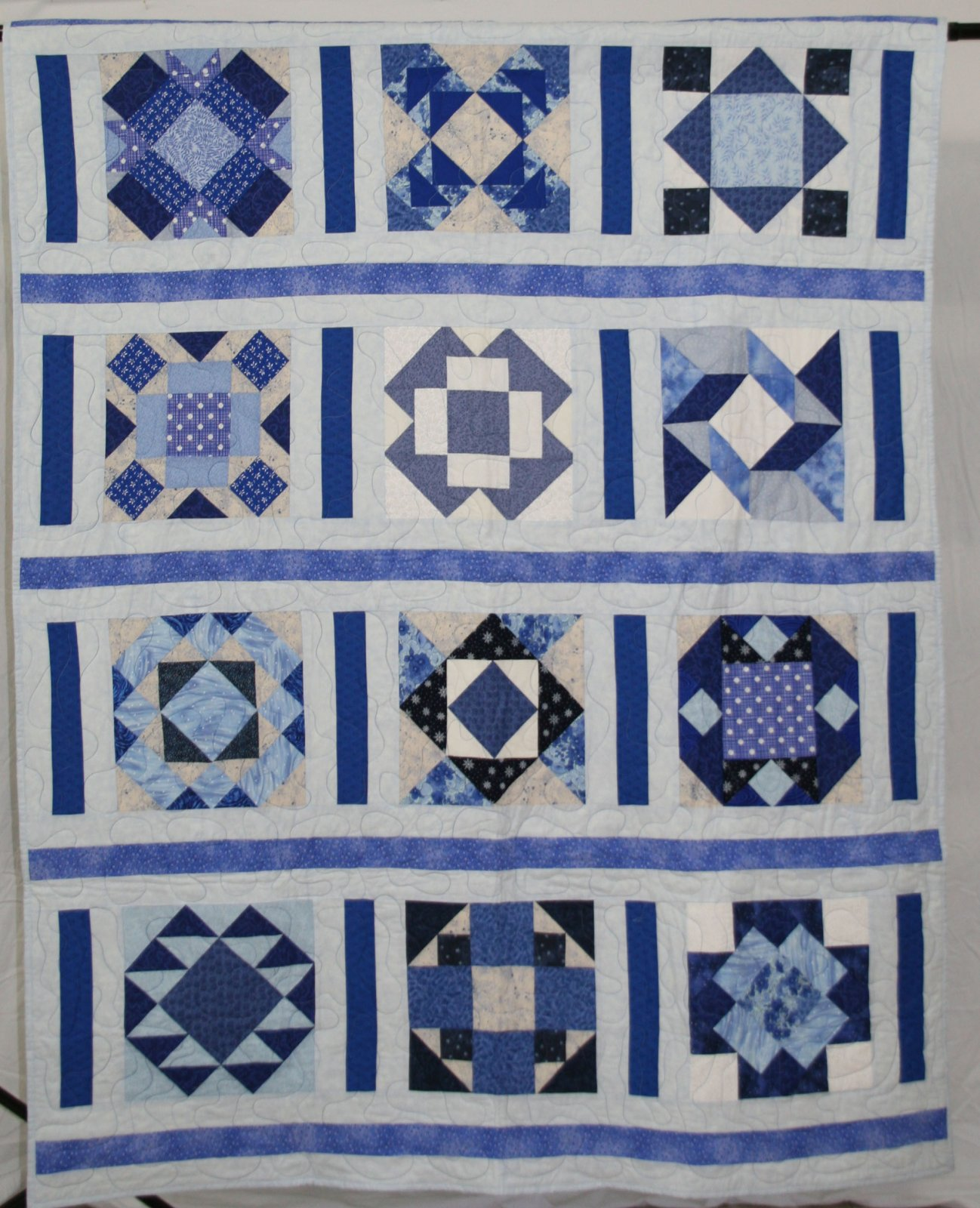 Quilts With Blue Green Andor Purple