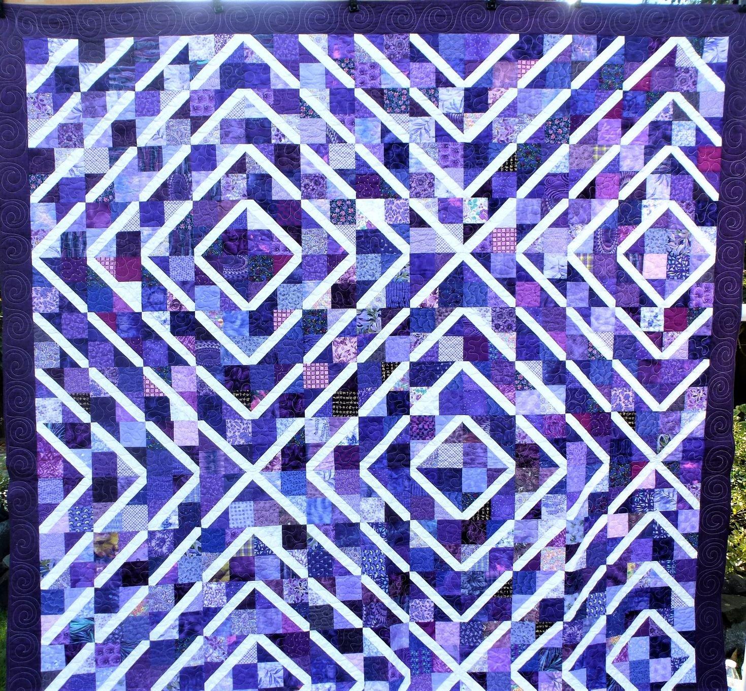 Purple, Purple, and More Purple