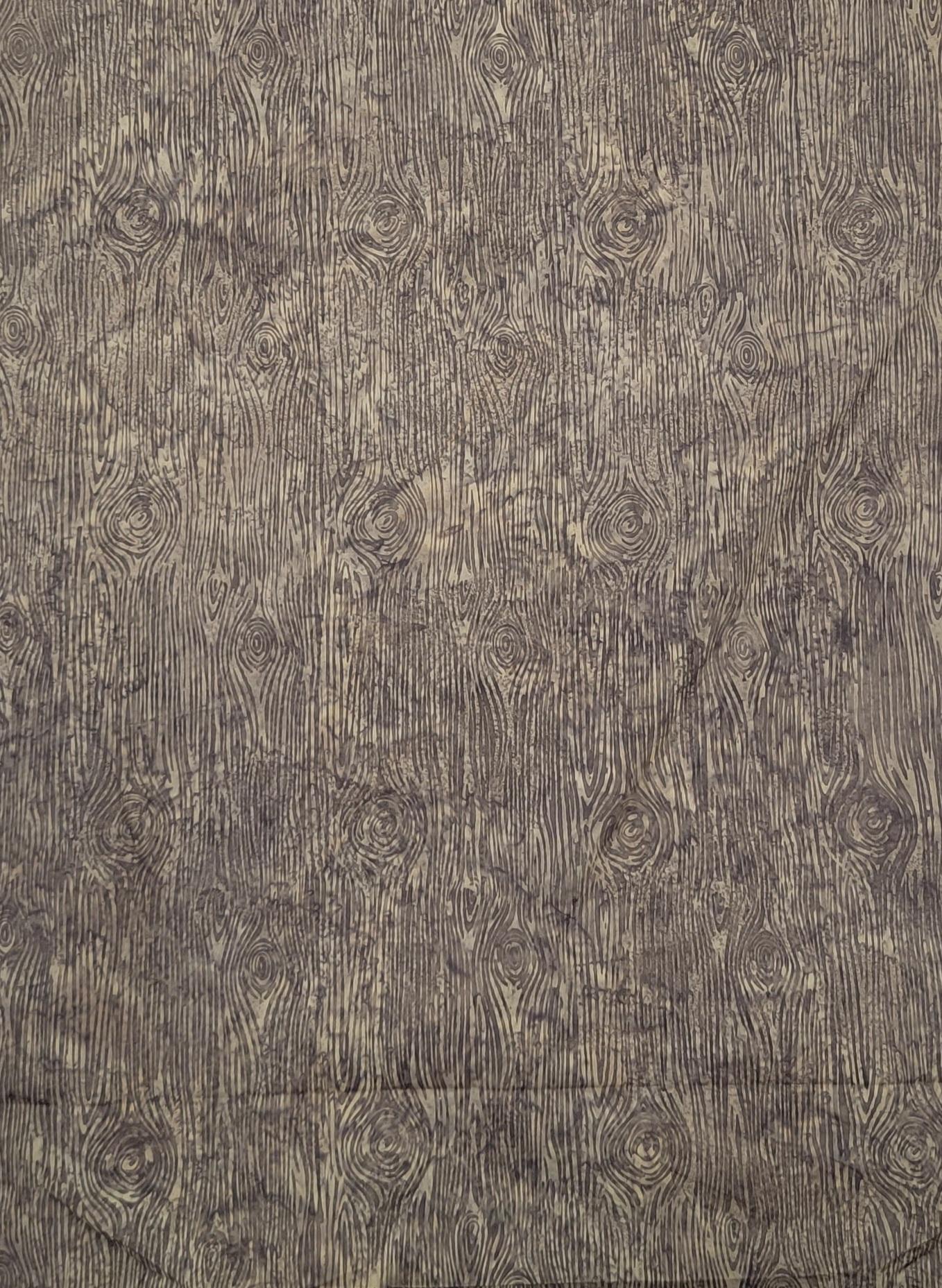Hoffman R2235-49 Khaki Wood Grain Batik