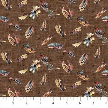 Northcott Rod And Reel 23328-36 Brown Flies Multi