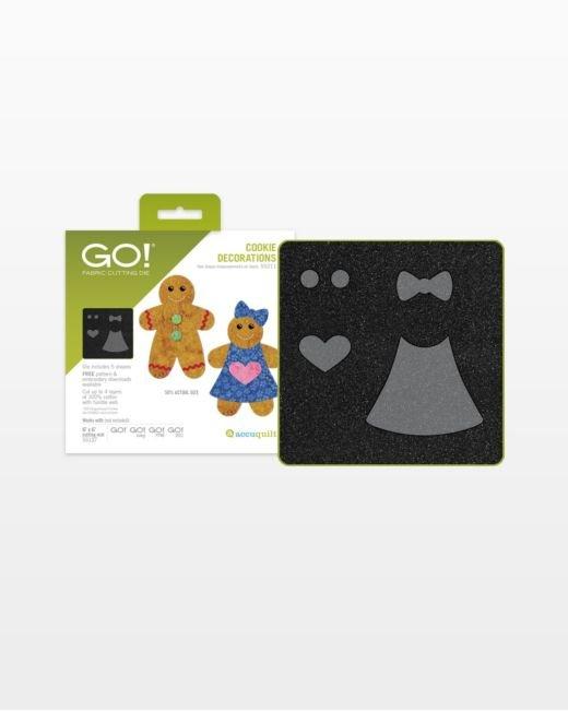 Accuquilt Go! Cookie Decorations 55211
