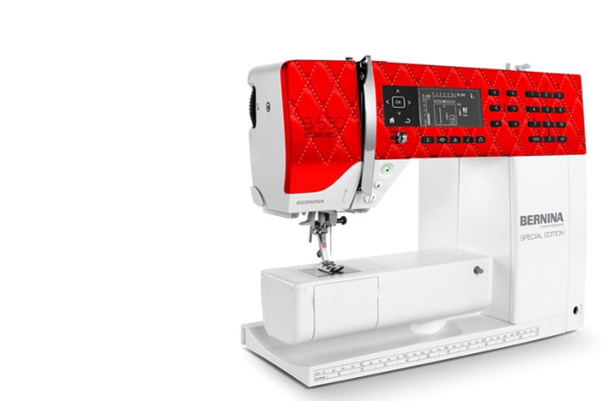Bernina 530 Swiss Red