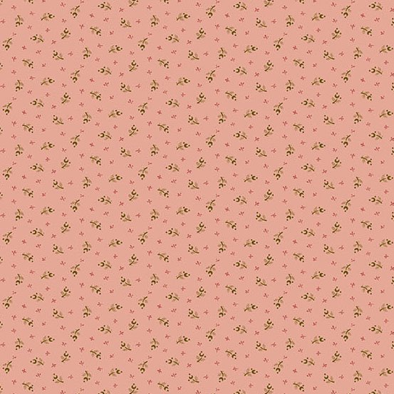 Andover The Seamstress by Laundry Basket Quilts A-9713-EN Antique Rose