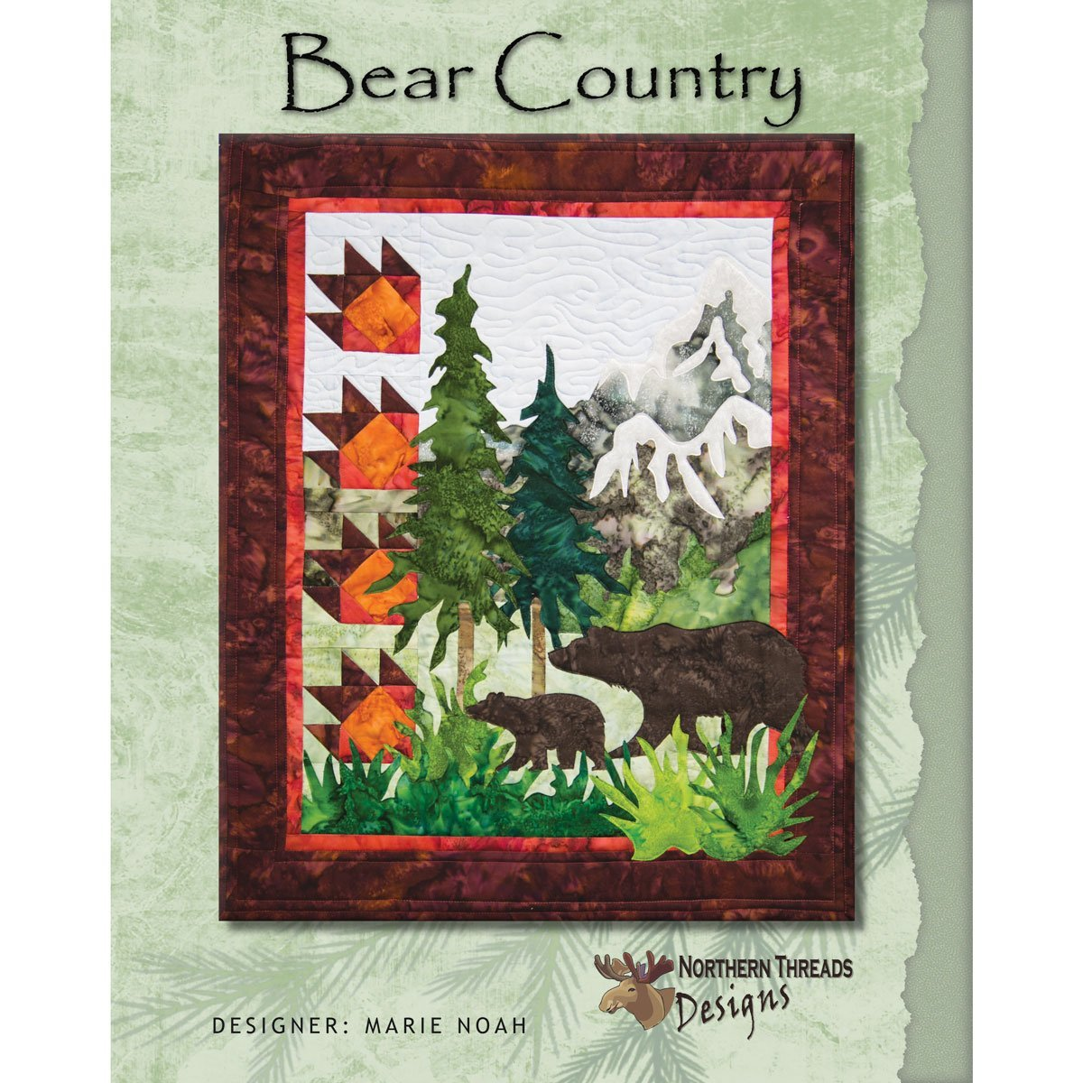 Bear Country Pattern