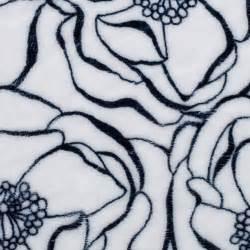 Shannon Minky Cuddle Bouquet Navy DR1448149
