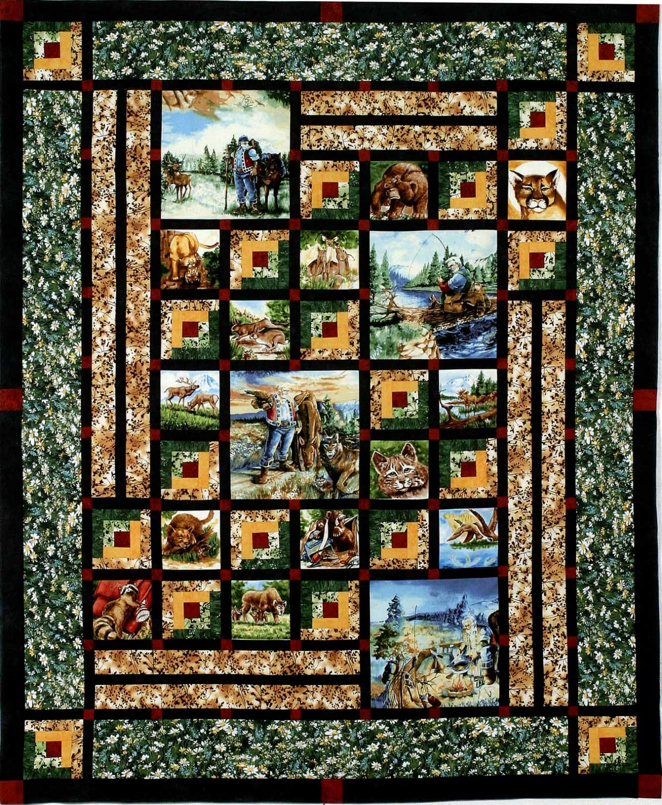 Cabin Wonders by Jackie's Animas Quilts