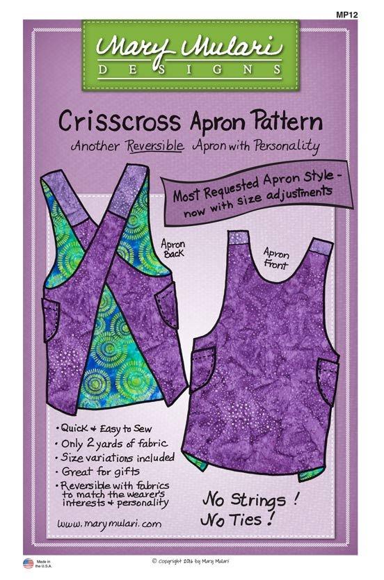 Crisscross Apron Pattern by Mary Mulari