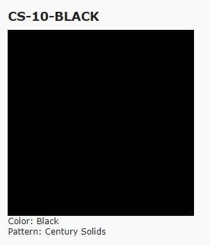 Andover Century Solids, Black