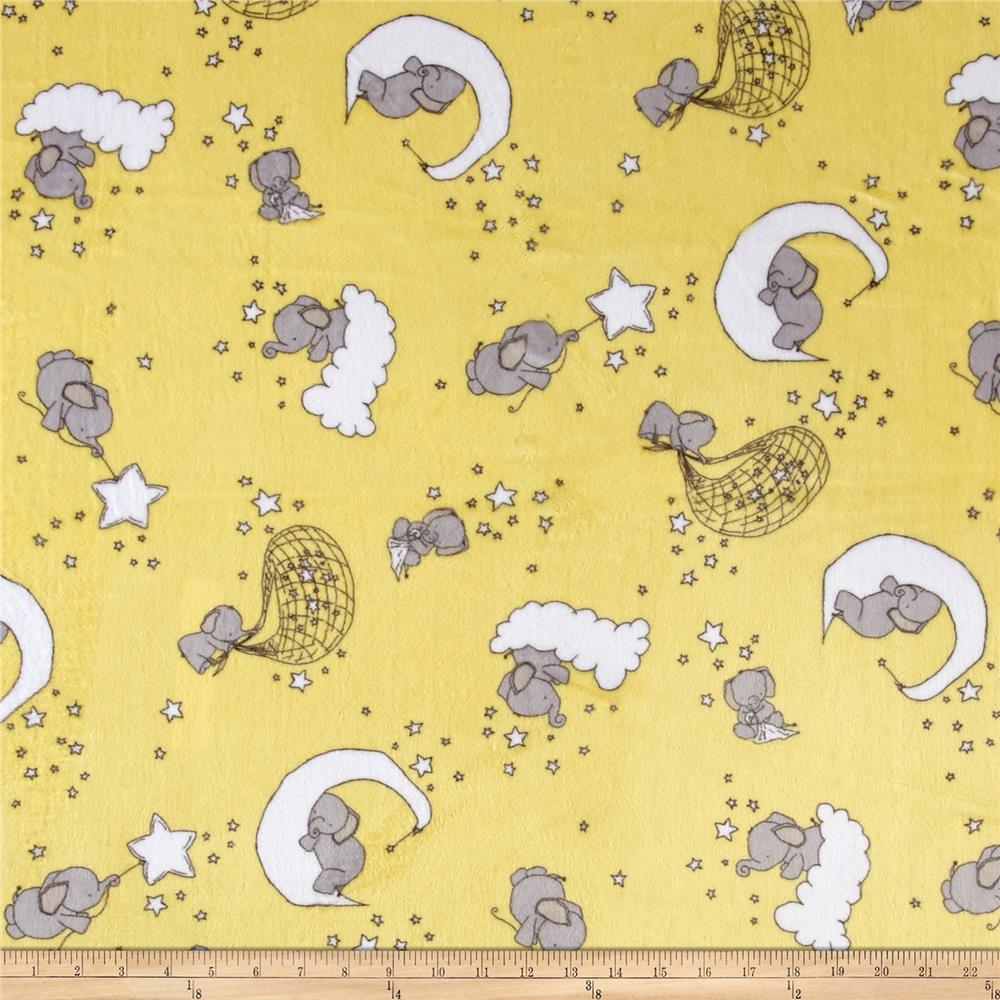Shannon Minky Cuddle Dreaming Banana DR149265