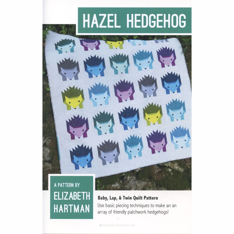Hazel Hedgehog Pattern by Elizabeth Hartman