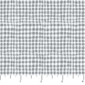 Figo Fabrics Elouise's Garden - Grey