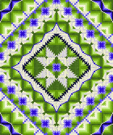 Eureka! by Jackie's Animas Quilts