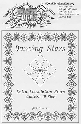 Extra Dancing Stars Foundations #1713A