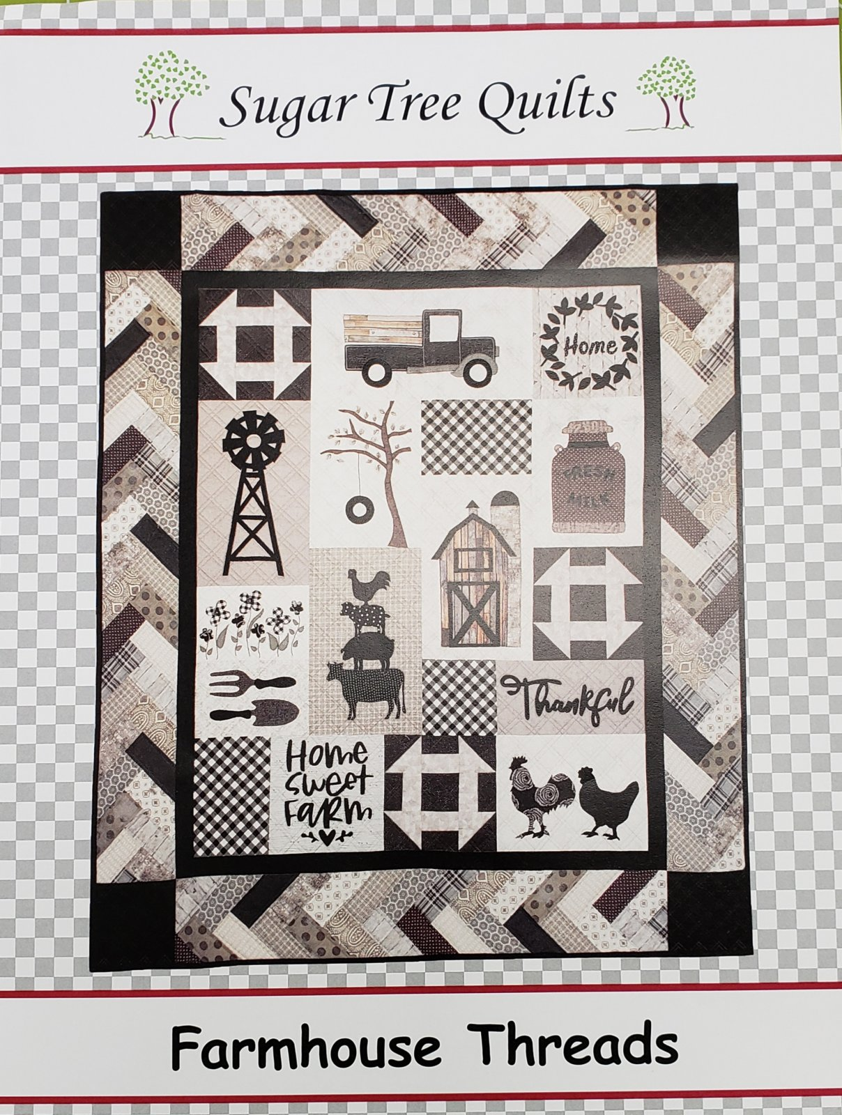 Farmhouse Threads kit from Sugar Tree Quilts