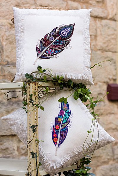 Feather Pillows Pattern