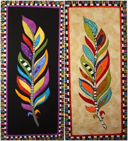 Feather Quilt Pattern