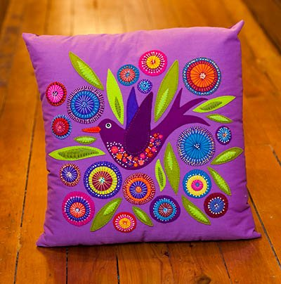 Flying Bird Cushion Pattern