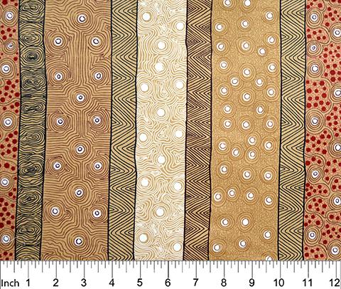 M&S Textiles Four Seasons Yellow