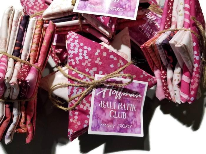 Hoffman Bali Batik of the Month - February