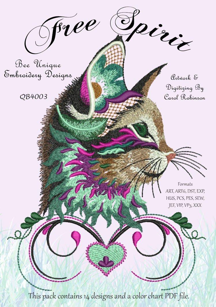 Free Spirit Machine Embroidery Design