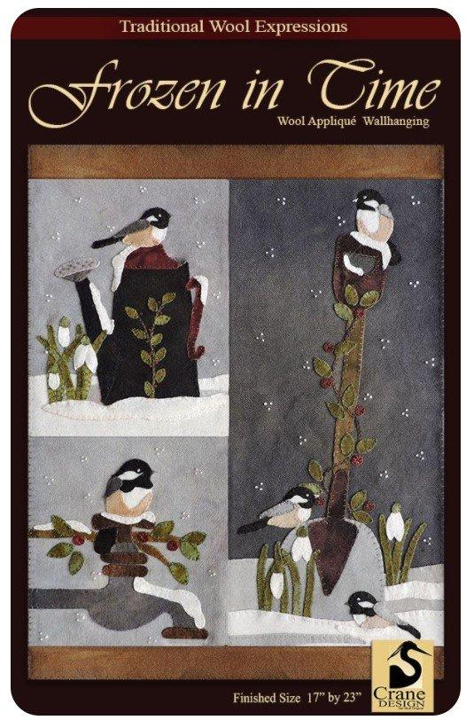 Frozen in Time Wool Pattern