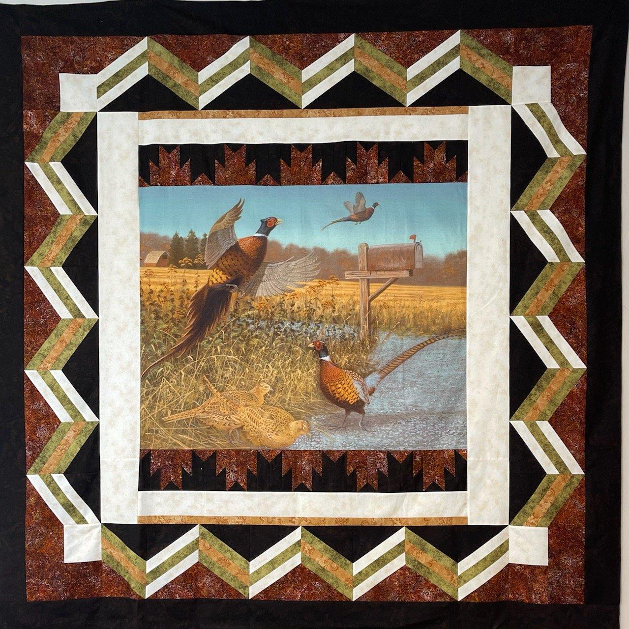 Silent Watcher Pheasants