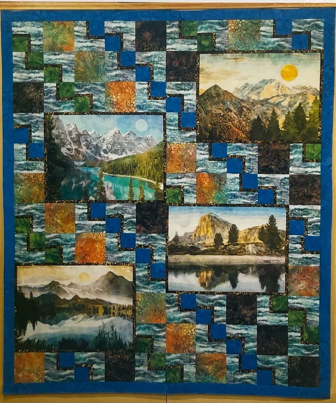 Untamed Waterscape Quilt Kit