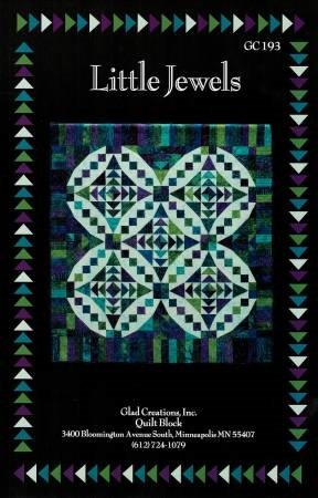Little Jewels 56 x 60 Quilt Pattern