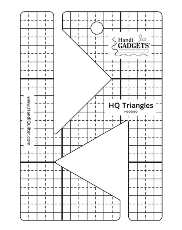 HQ Triangles Ruler #HG00590