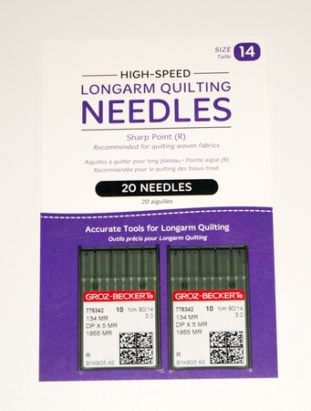 High-Speed Longarm Quilting Needles 90/14 20pk
