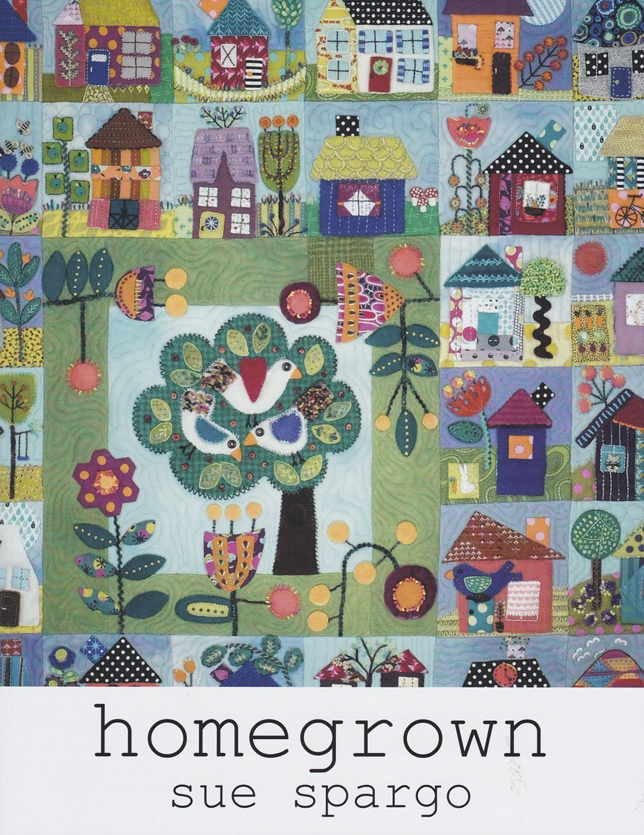 Homegrown Book Sue Spargo