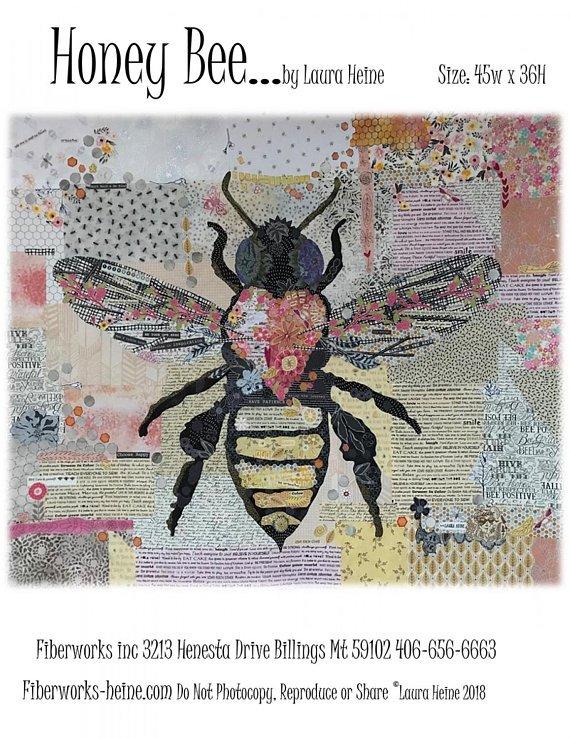 Honey Bee... by Laura Heine