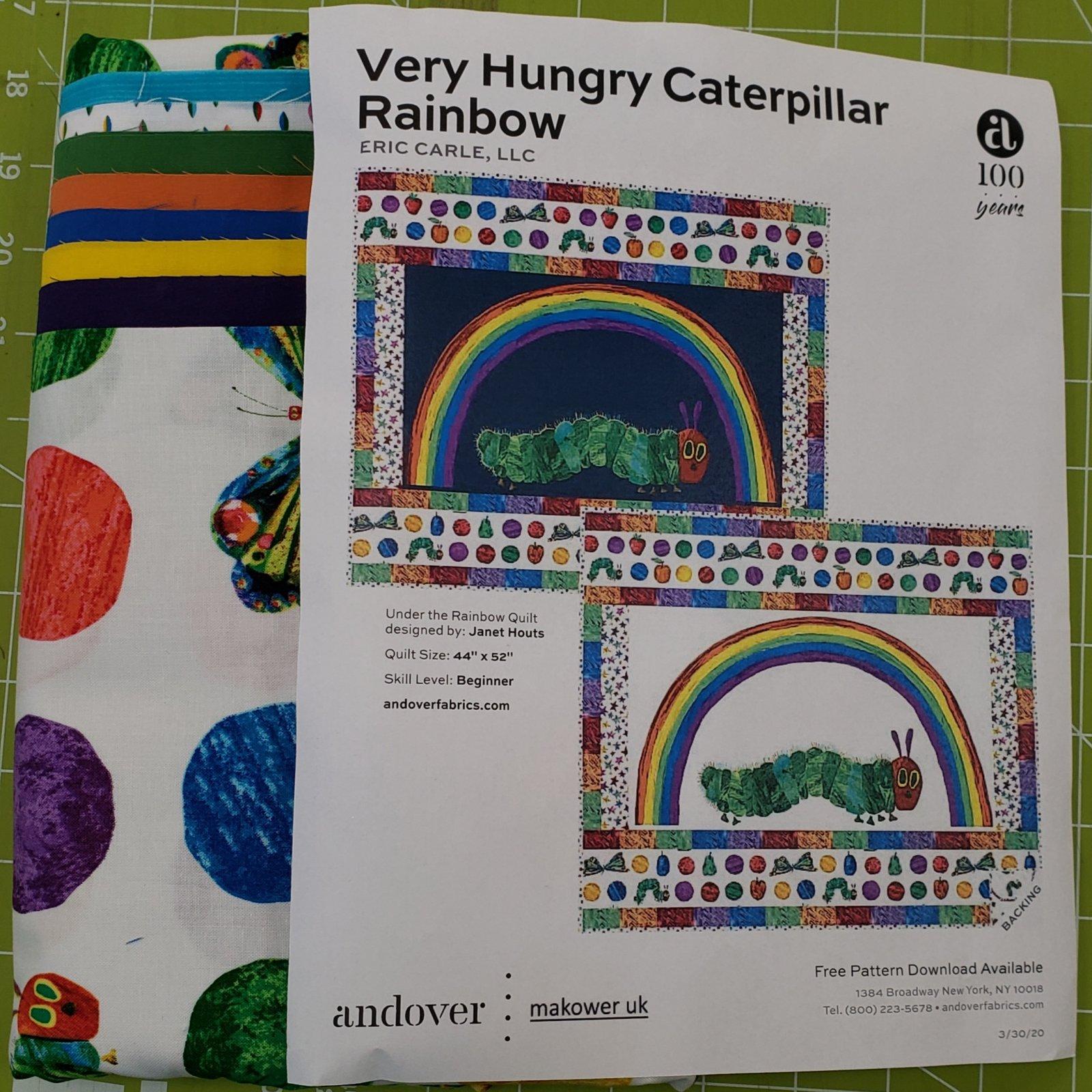 Andover Very Hungry Caterpillar Rainbow Kit