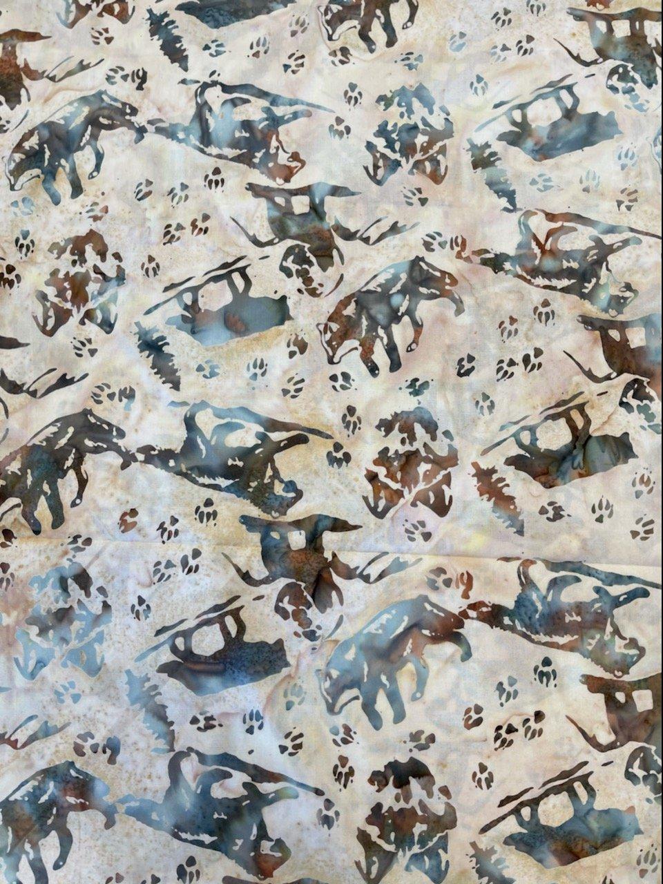 Hoffman S2351-193 Desert Wolf Batik