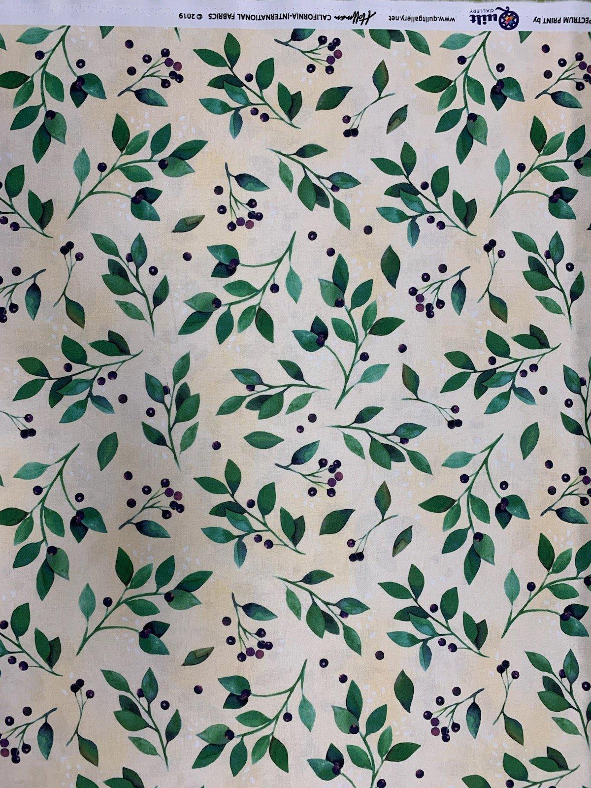 Hoffman S4706-346 Huckleberry Quilt Gallery Design