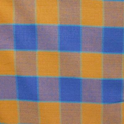 Kaffe Fassett-Checkerboard Plaid Ikat-Blue
