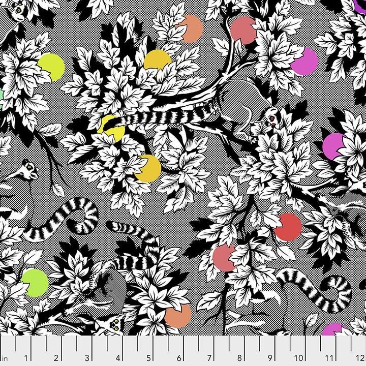 Lemur Me Alone Ink Tula Pink Lineworks