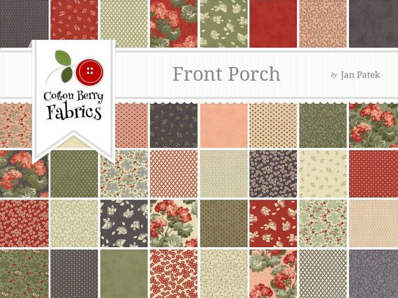 The Front Porch Jelly Roll By Moda 1519770896