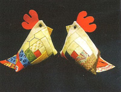 Montana Chicken Pincushion Pattern #1720