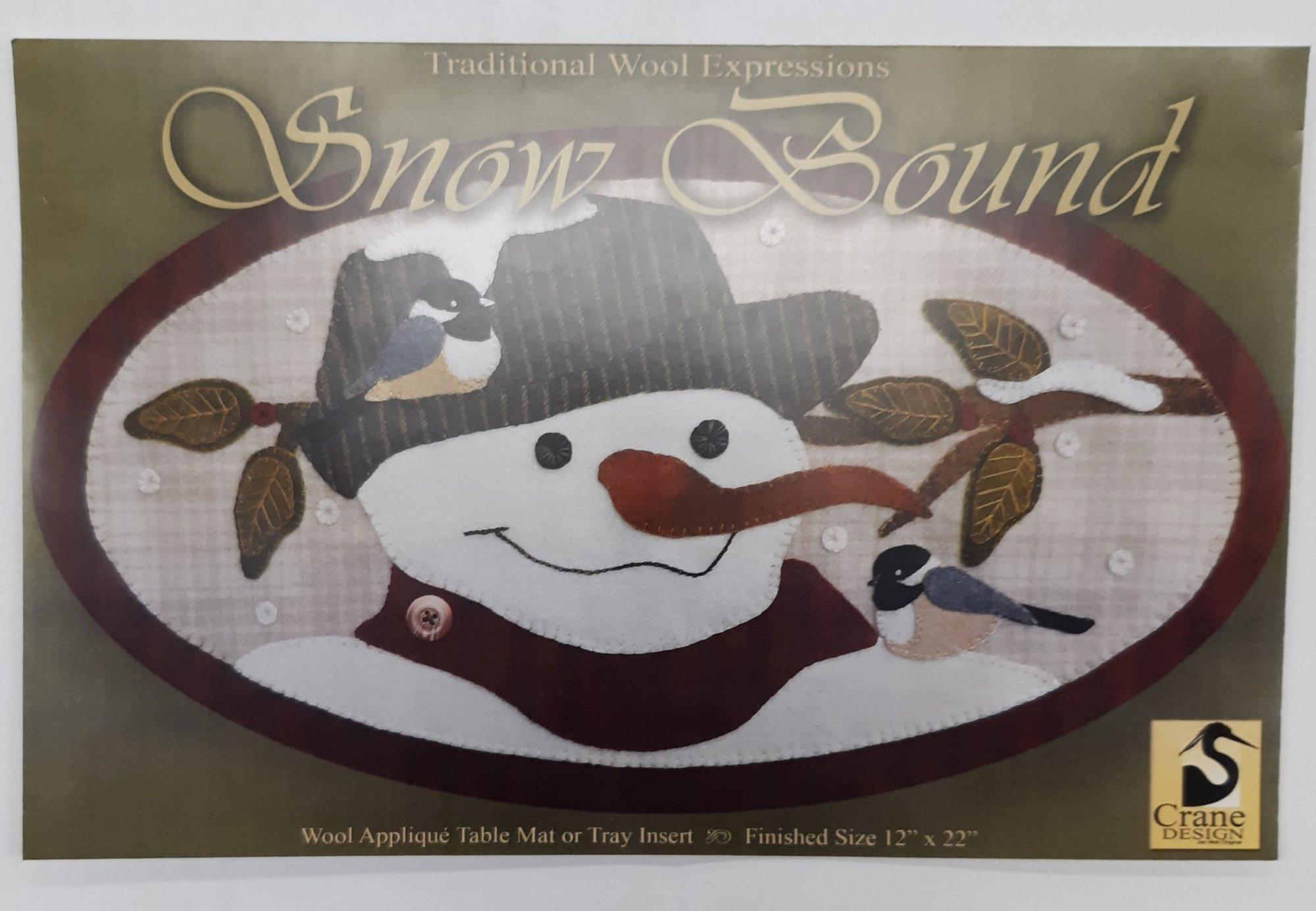 Snow Bound Wool Pattern