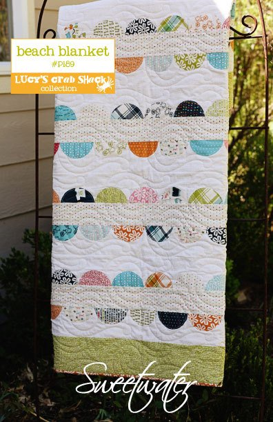 Sweetwater Beach Blanket #P189 Pattern