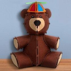 Freestanding Teddy Bear Machine Embroidery pattern by OESD