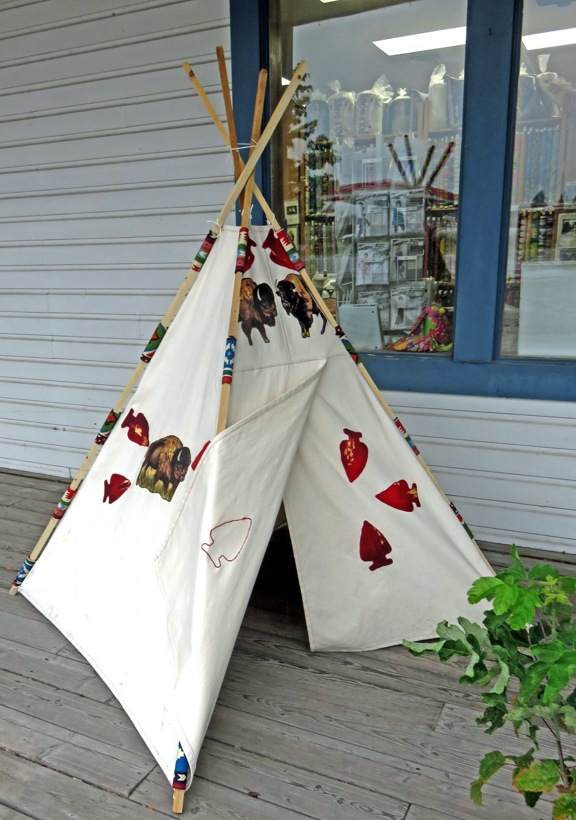 Pre-Cut Canvas Teepee Kit