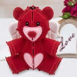 Freestanding Valentine Teddy Bear Machine Embroidery pattern by OESD